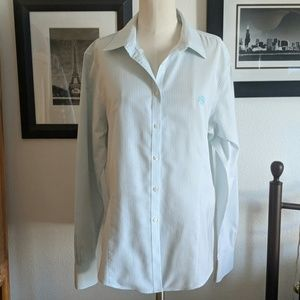 Brooks Brothers Fitted Button Up Shirt Size 14